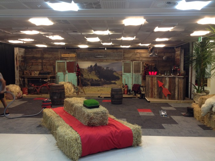 Barn Interior, Westpac Event<br /><i>Art Director +<br />Construction Manager</i>