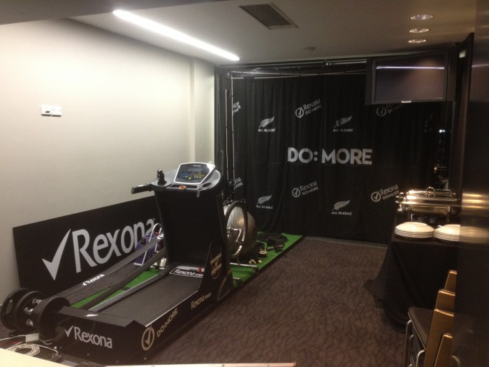 Rexona Treadmill of Devotion<br /><i>Construction Manager +<br />Event Standby</i>